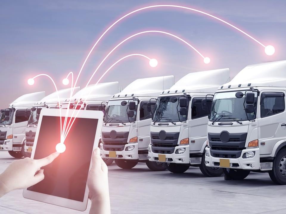 géolocalisation GPS flotte de camion au Maroc