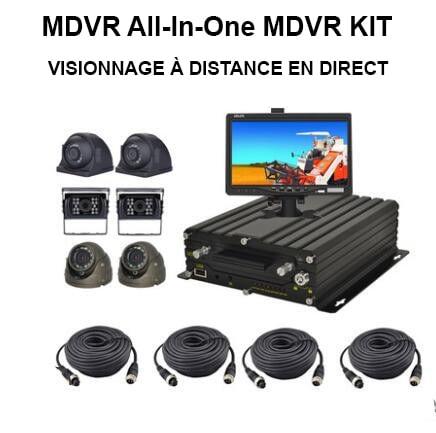 Vidéo en ligne à distance MDVR au au Maroc