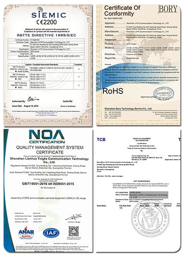 photo certifications