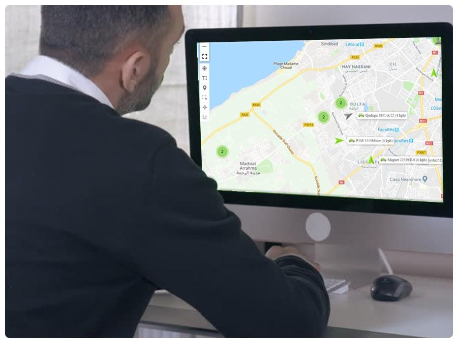 surveillance humaine parc automobile par gps