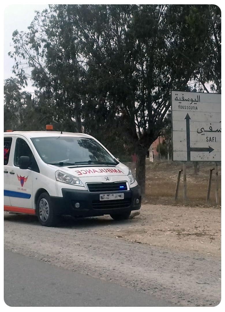 service tracking gps ambulance