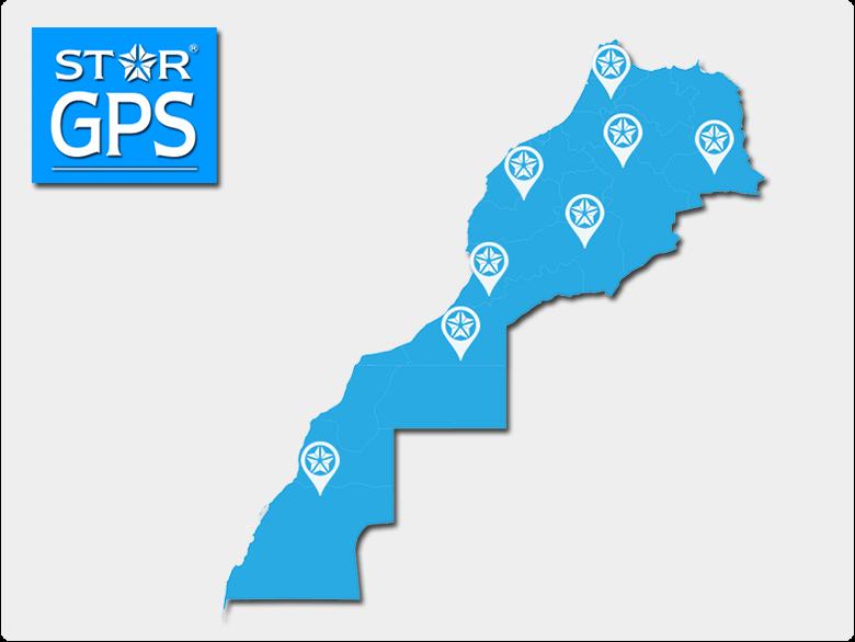 Reseau de StarGPS au Maroc
