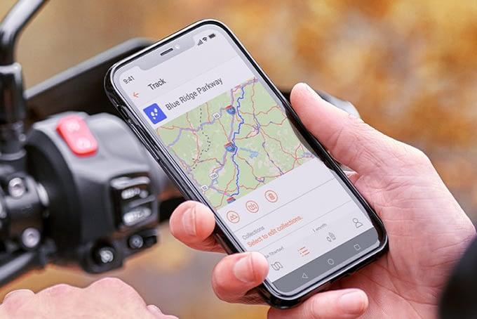 GPS moto au Maroc
