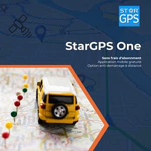 Photo de la formule de tracking StarGPS One