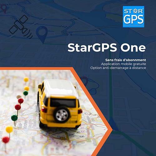 Photo de la formule de tracking StarGPS One