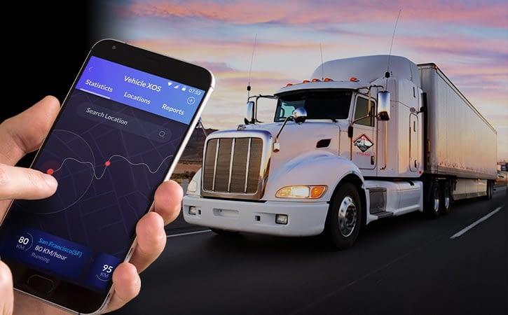 Application mobile de GPS pour tout le territoire marocain