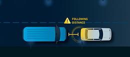 Distance de suivi pour les camions et la flotte - Conseils de sécurité